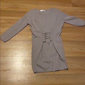 Chick wish Mauve mini Dress